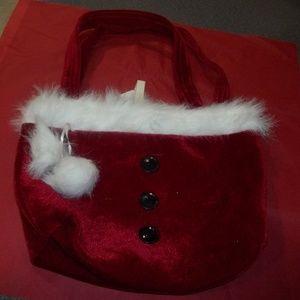 Handbags - Red Velvet Holiday Tote Bag